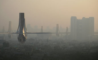 In the fight against smog, architects in Delhi get creative
