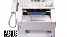 Cash is the fax machine of Global Development