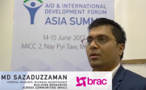 Aid & Development Asia Summit 2017 - Interview with Md Sazaduzzaman, BRAC