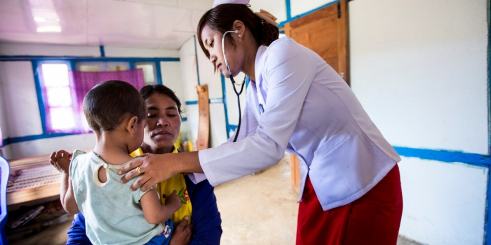 Four countries pledge more than $215 million to improve healthcare systems in Myanmar